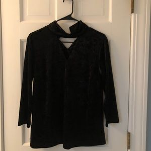 Black Velvet Jones New York Blouse